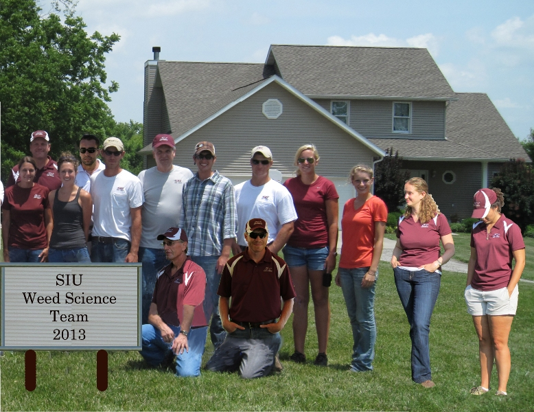 SIU Weed Science Team - 2013