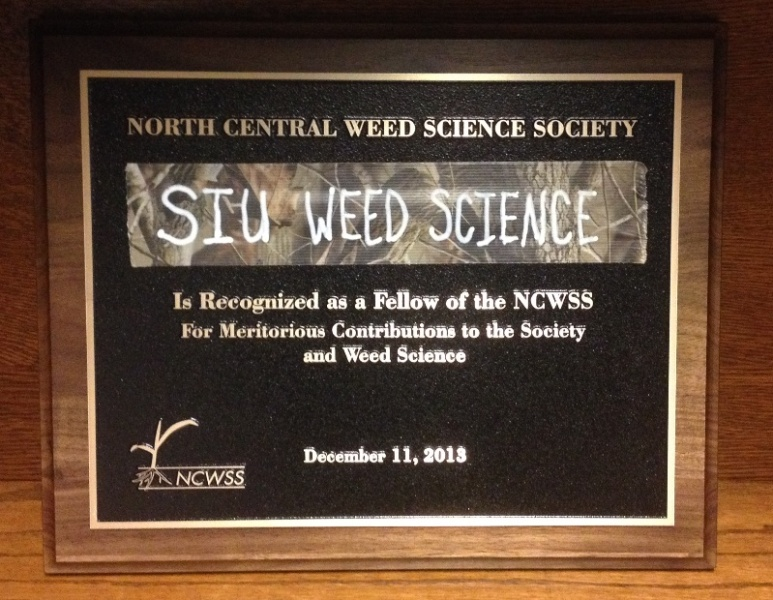 Bryan's NCWSS Fellow Award